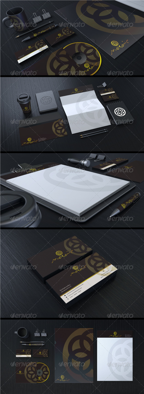 Creative Corporate Identity 04 - Stationery Print Templates