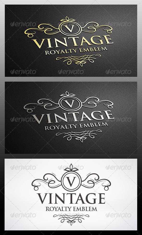 Vintage Crest Logo - Crests Logo Templates