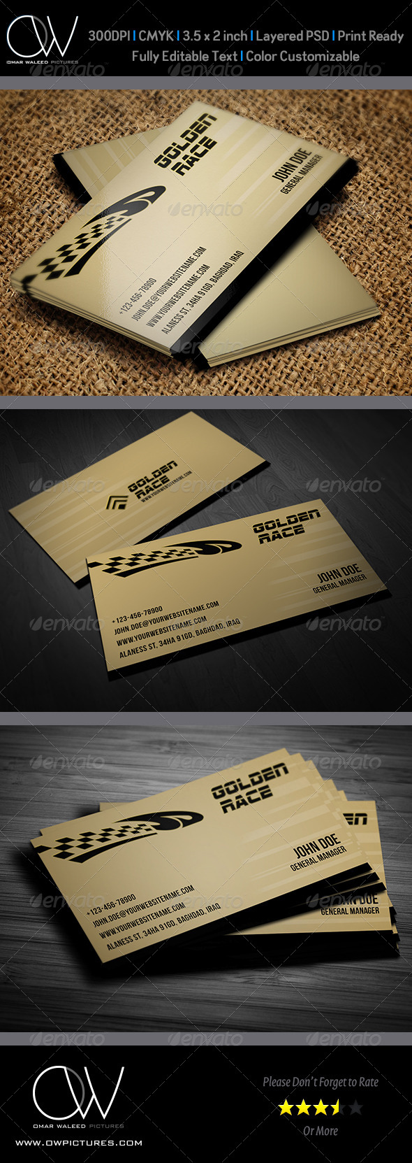 Sport Race Business Card Template - Creative Business Cards