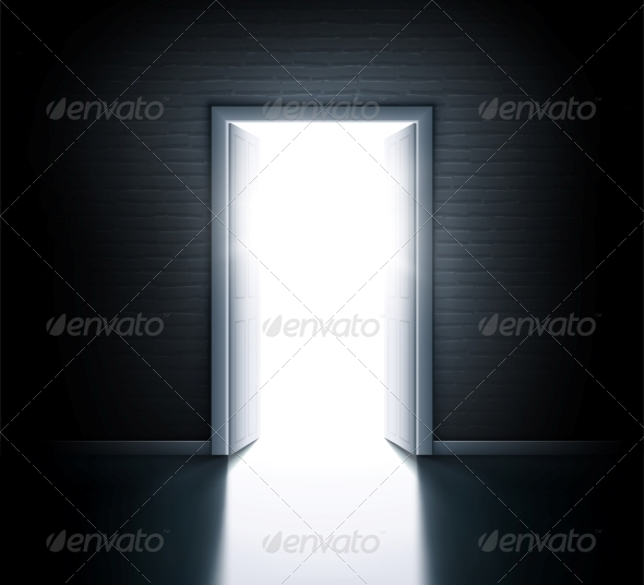 Open Door - Backgrounds Decorative