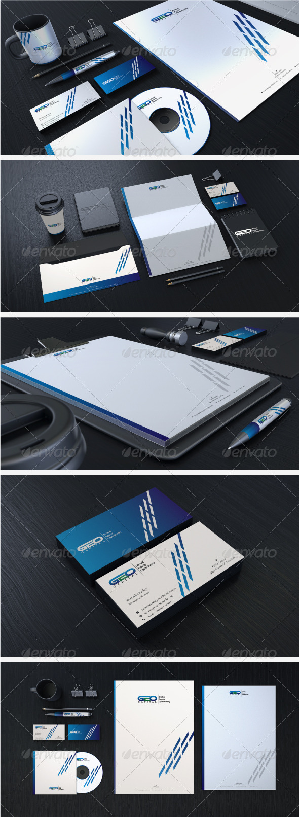 Creative Corporate Identity 05 - Stationery Print Templates