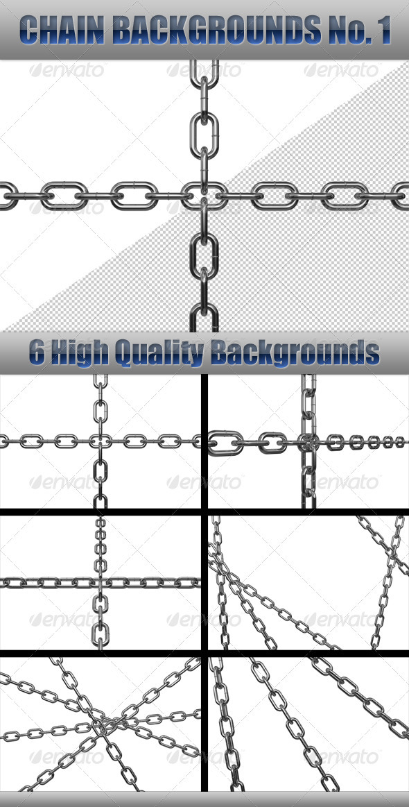 Chain Backgrounds No.1 - 3D Renders Graphics