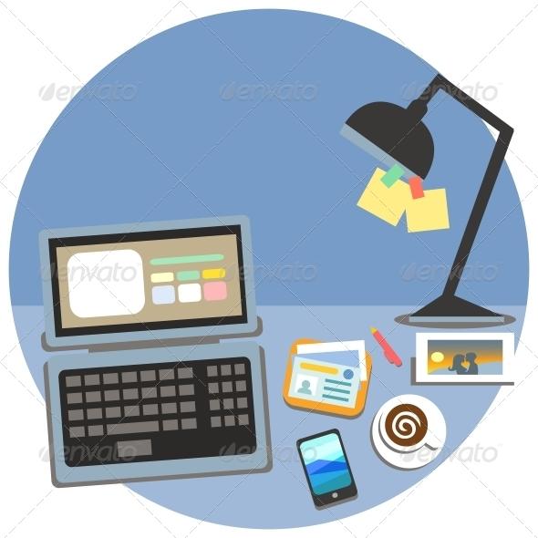 Business Workplace, Cubicle Concept - Concepts Business
