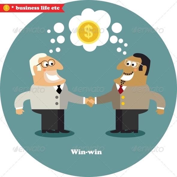 Business Handshake Big Deal - Concepts Business