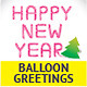 Unique Glossy Balloon Greetings - GraphicRiver Item for Sale