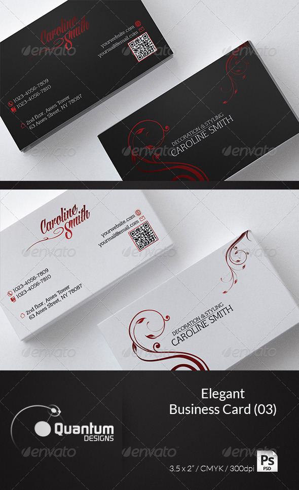 Elegant Business Card 03 - Creative Business Cards