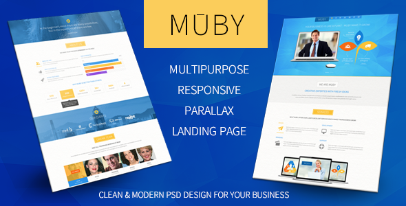 Muby | Multi-Purpose PSD Template