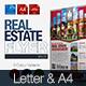 Simple Real Estate Flyer Vol.01 - GraphicRiver Item for Sale