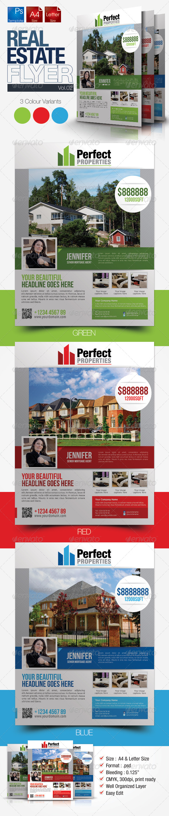 Simple Real Estate Flyer Vol.2 - Commerce Flyers