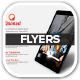 Social Media Flyer with Mobile App Preview - GraphicRiver Item for Sale