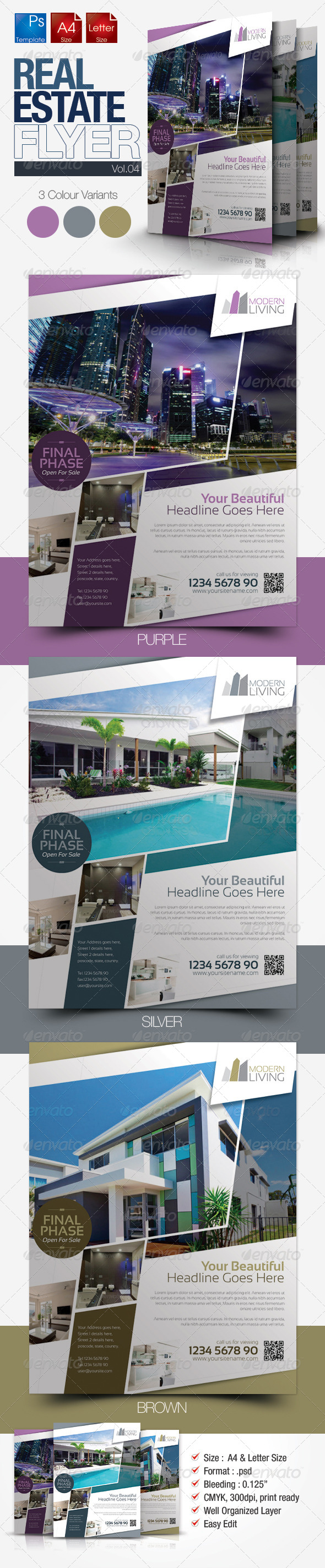 Simple Real Estate Flyer Vol.04 - Miscellaneous Events