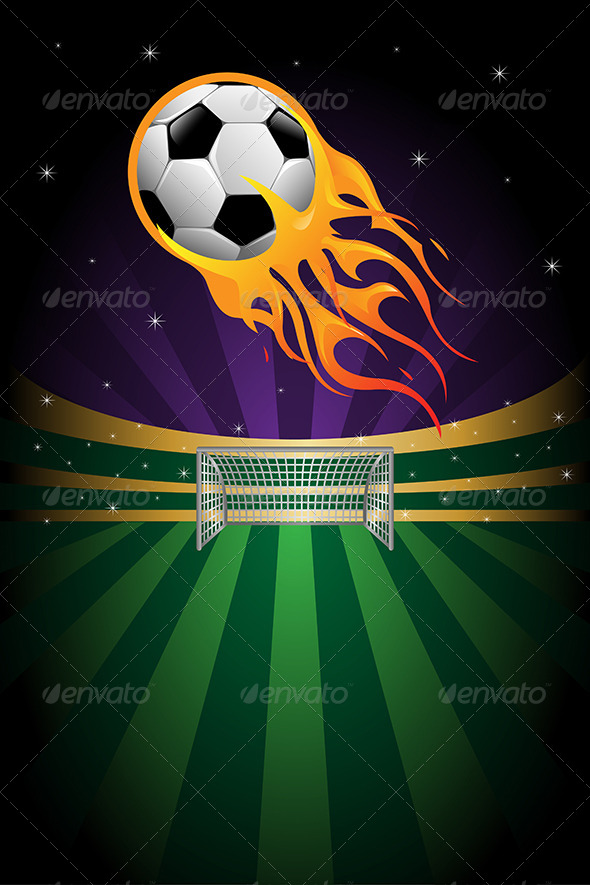 Soccer Background - Sports/Activity Conceptual