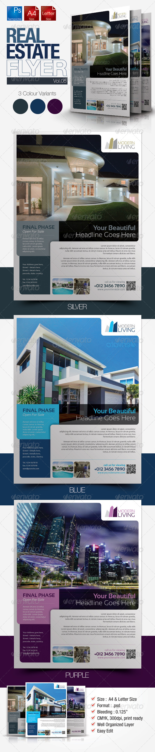 Simple Real Estate Flyer Vol.05 - Corporate Flyers
