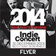 New Year's Eve Indie Concert Flyer - GraphicRiver Item for Sale