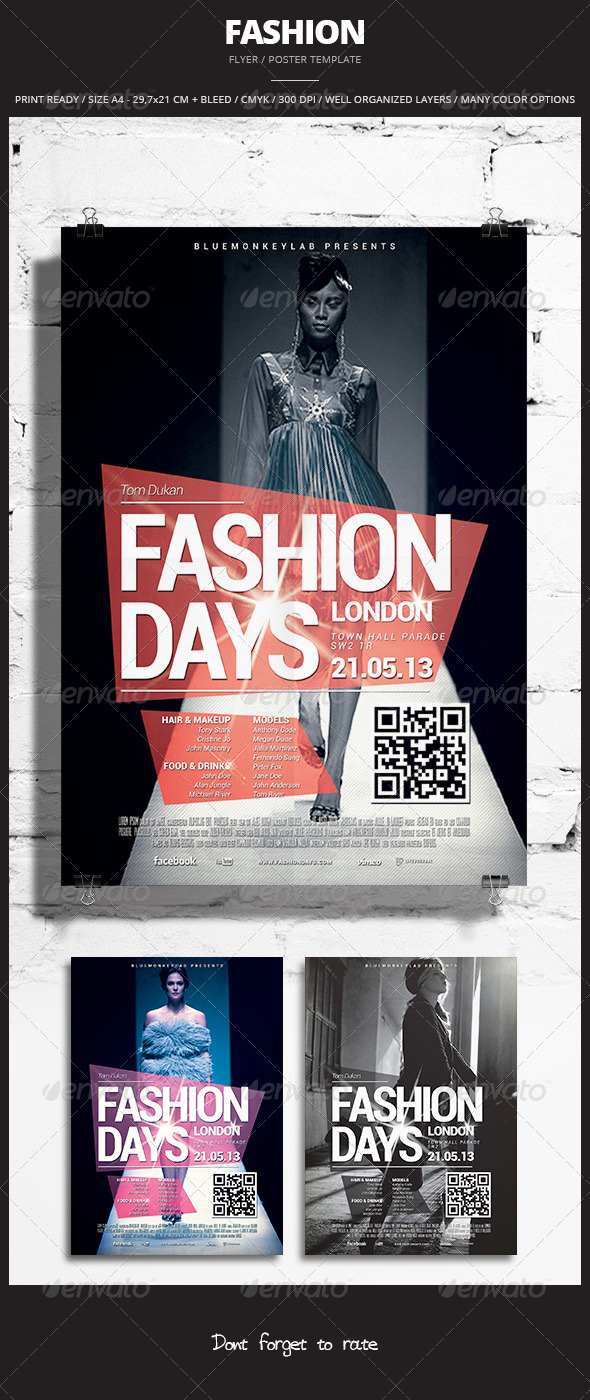 Fashion Flyer / Poster 2 - Events Flyers