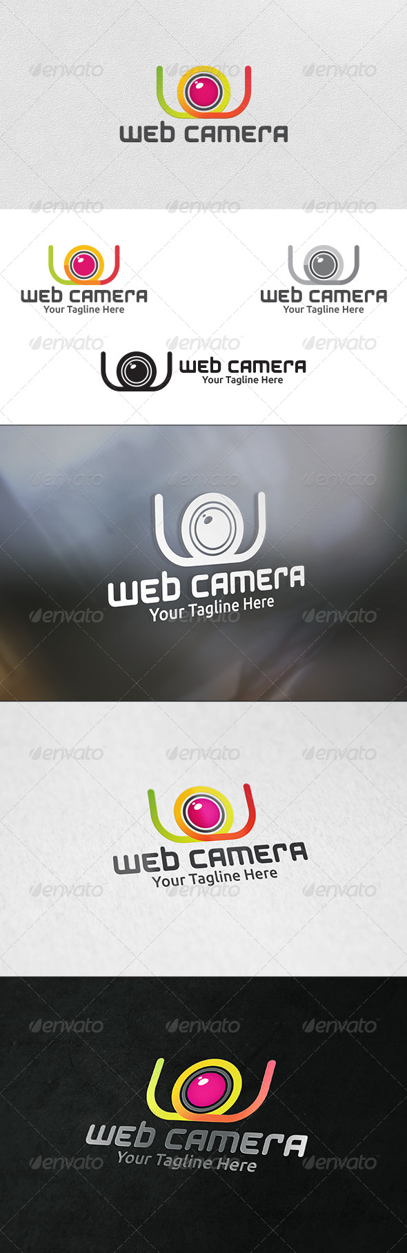 Web Camera - Logo Template - Objects Logo Templates
