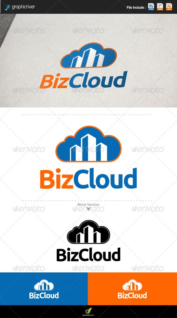 Business Cloud - Symbols Logo Templates