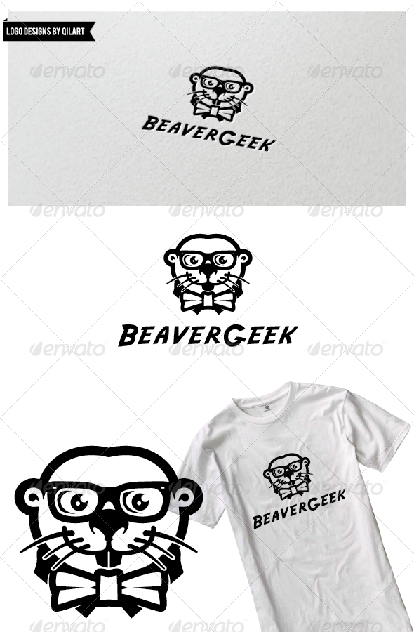 BeaverGeek - Animals Logo Templates