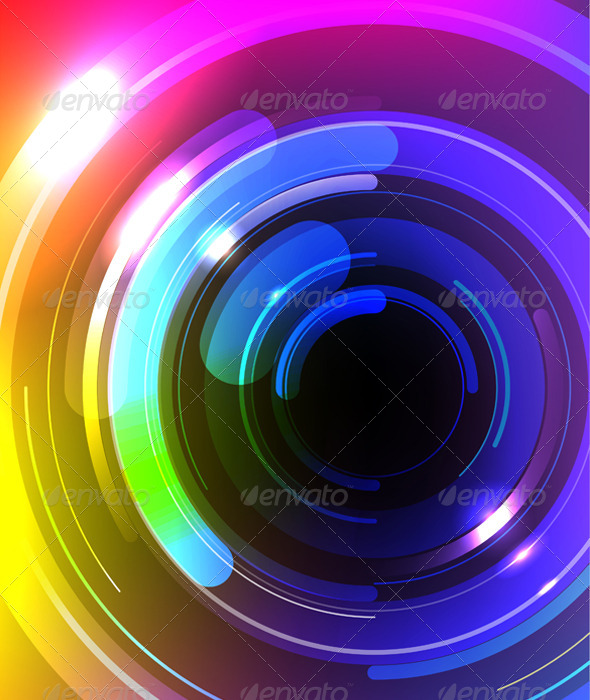 Vector Multicolor Abstract Background - Backgrounds Decorative