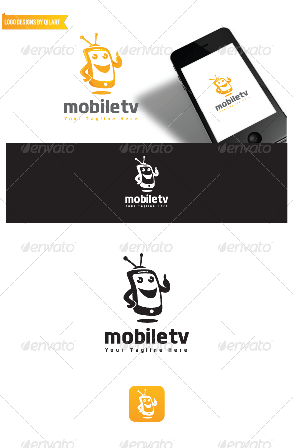 Mobiletv - Abstract Logo Templates