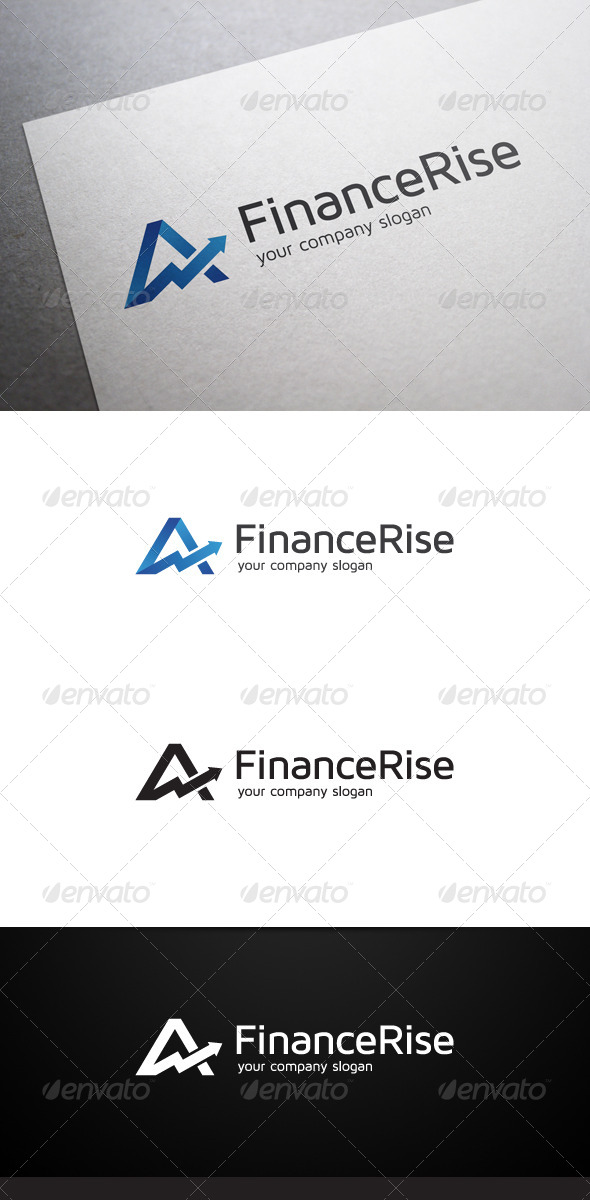 Finance Rise Logo - Symbols Logo Templates