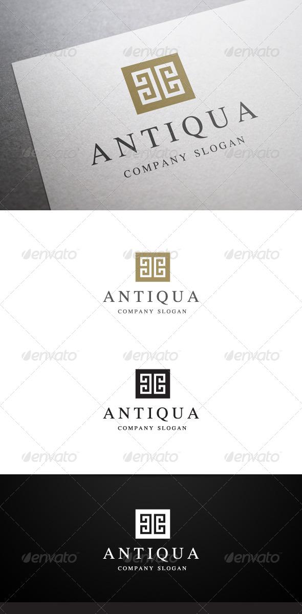 Antiqua Logo - Abstract Logo Templates