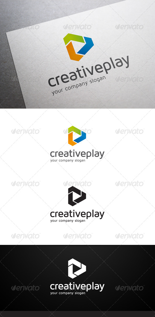 Creative Play Logo - Abstract Logo Templates