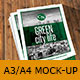 Mock-Up Brochure Bifold A3/A4 - GraphicRiver Item for Sale