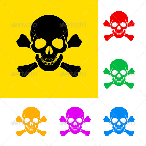 Danger Sign - Decorative Symbols Decorative