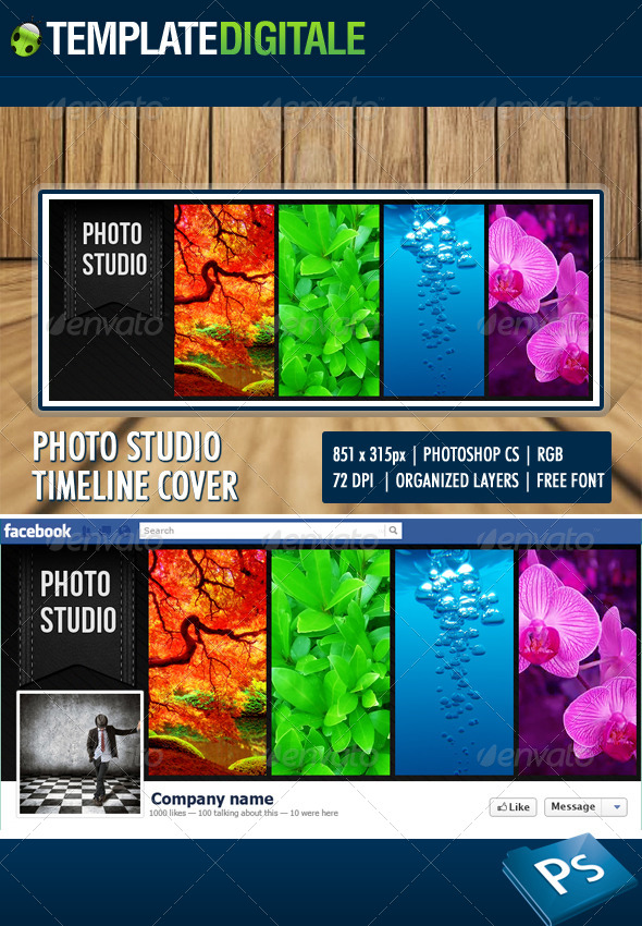 Photo Studio Facebook Timeline - Facebook Timeline Covers Social Media