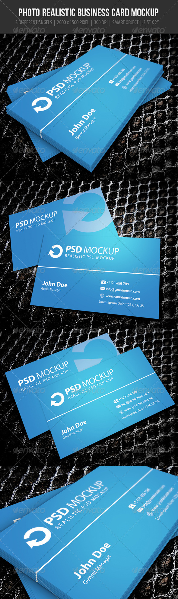 Business Card Mockup 1 - Business Cards Print