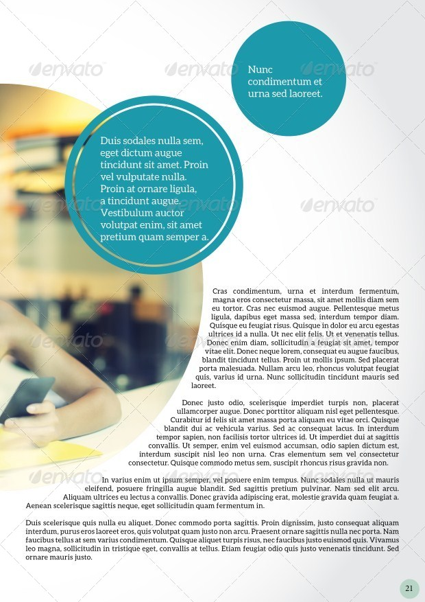 Circle Magazine Template-Indesign 24 Page Layout by hossaine ...