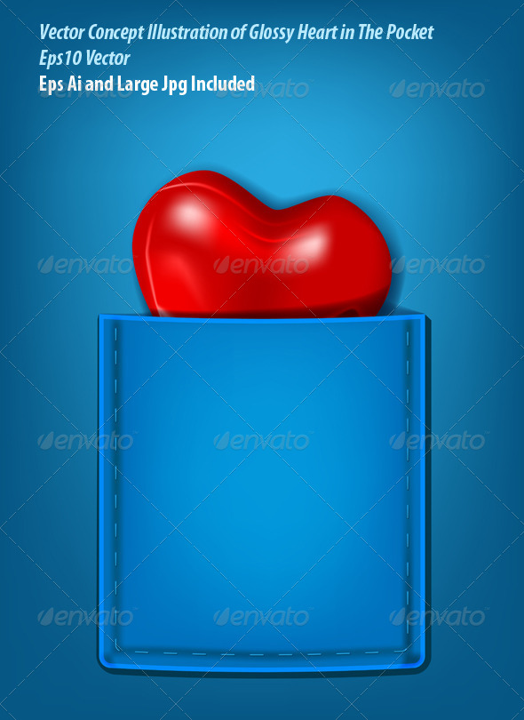 Pocket Heart - Conceptual Vectors