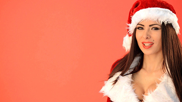 Sexy Santa Claus Girl