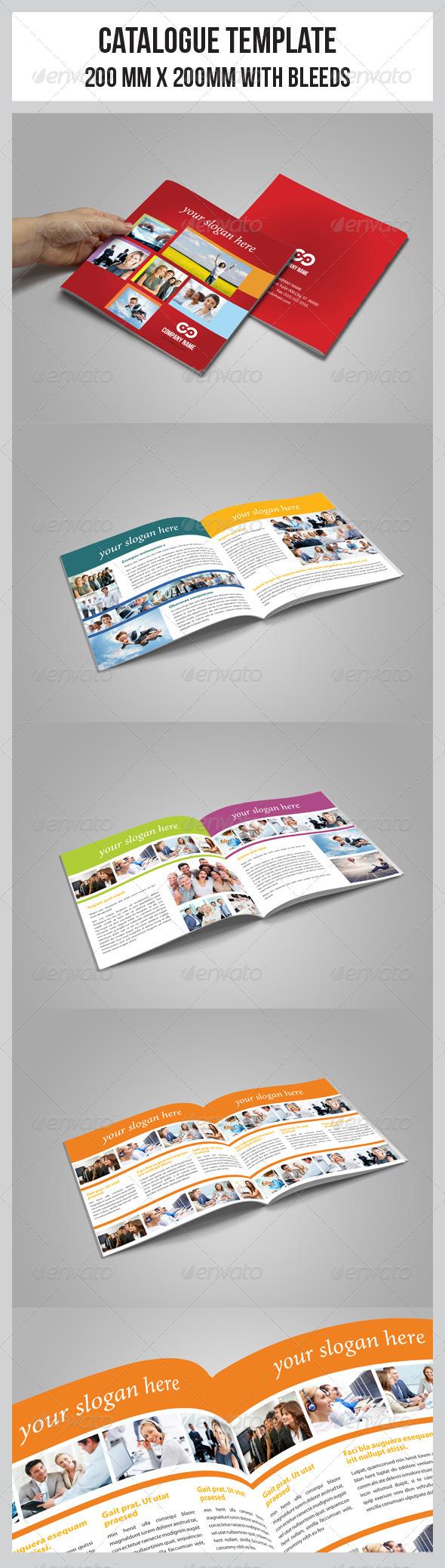 Multipurpose Business Catalogue Template - Catalogs Brochures