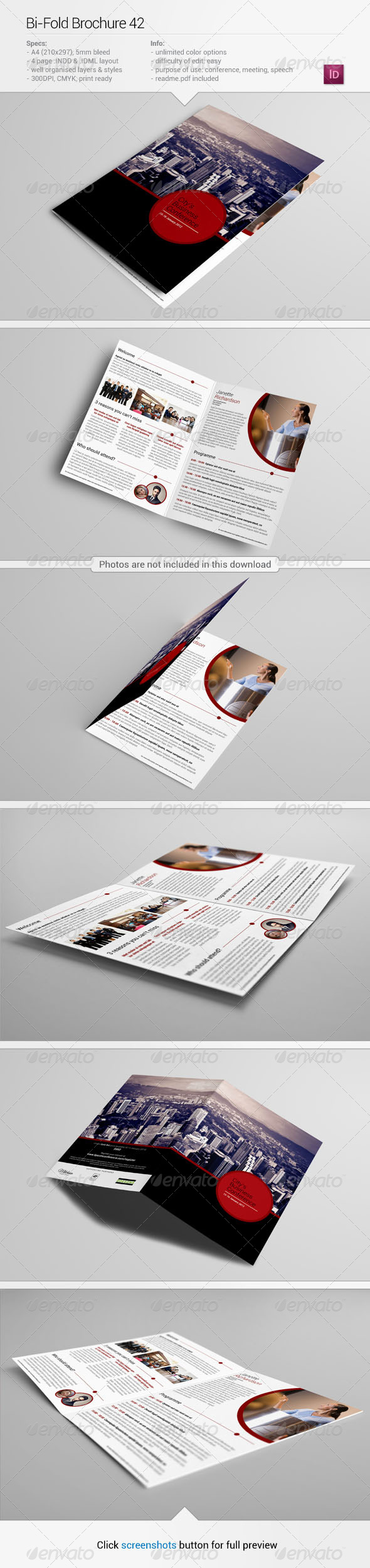 Bi-Fold Brochure 42 - Informational Brochures