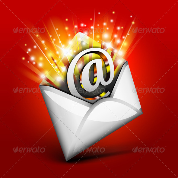 Magic Email - Web Elements Vectors