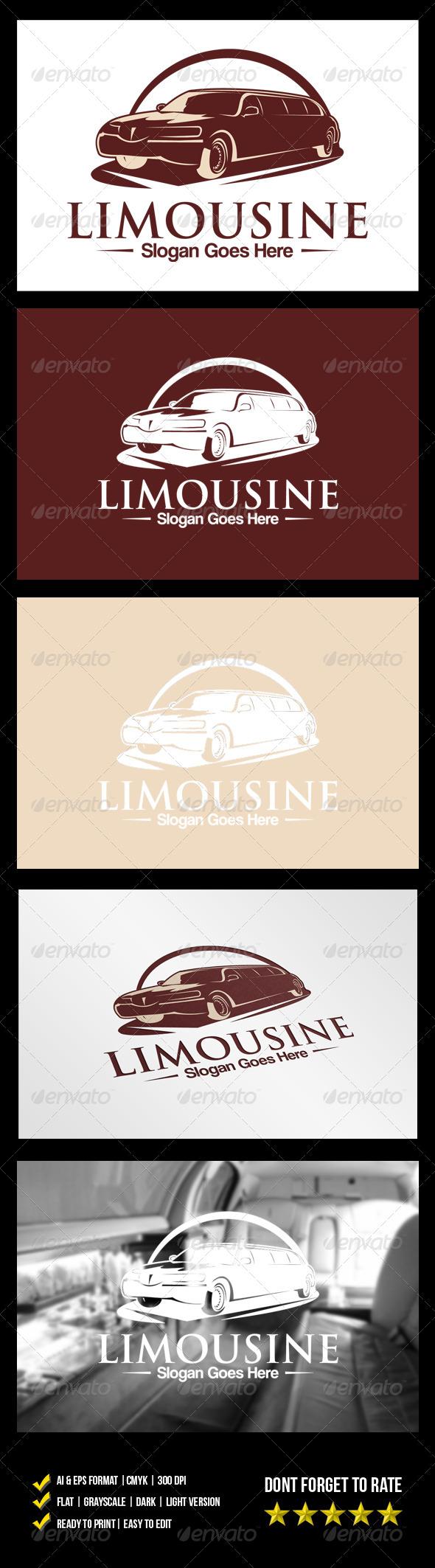 Limousine Logo - Objects Logo Templates