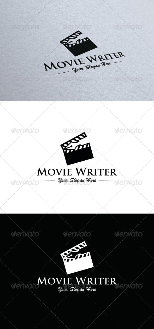Movie Writer - Symbols Logo Templates