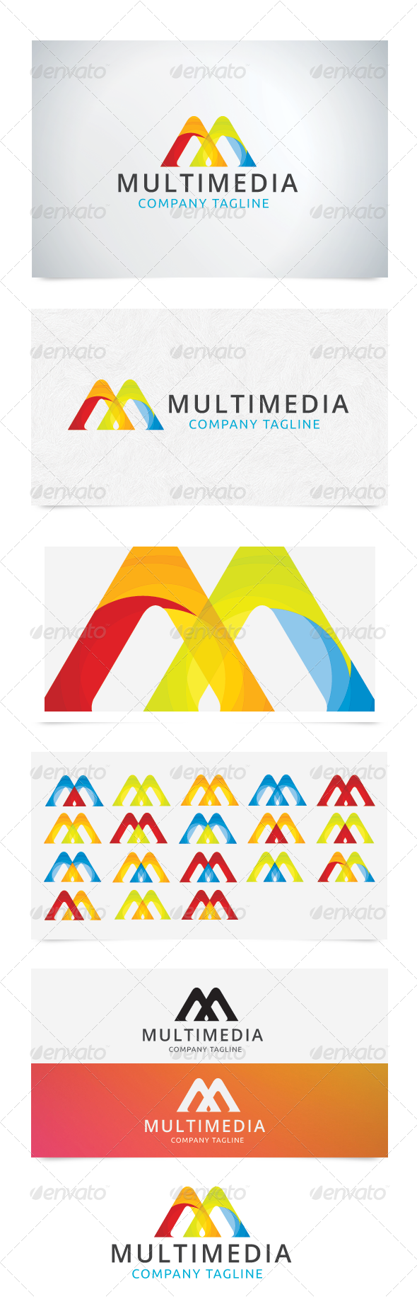 MultiMedia - Letters Logo Templates