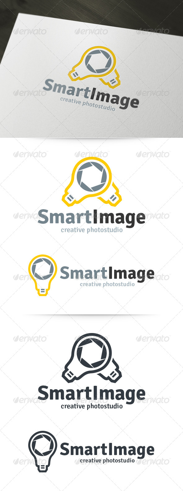 Smart Image - Photography Logo - Objects Logo Templates