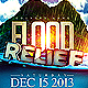 Typhoon Relief Flyer Template - GraphicRiver Item for Sale