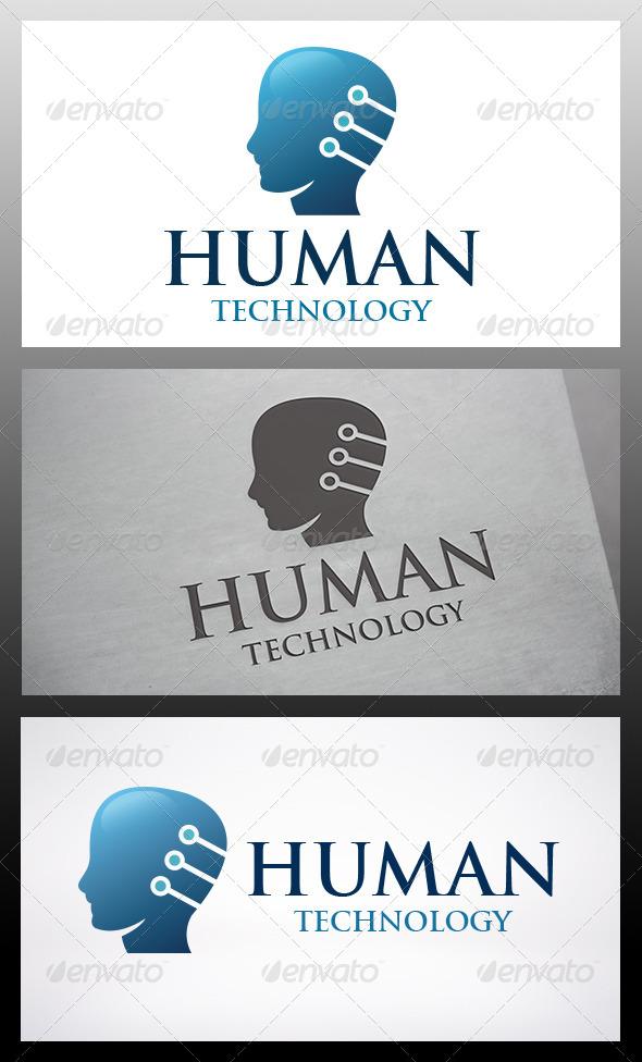 Human Tech Logo - Humans Logo Templates
