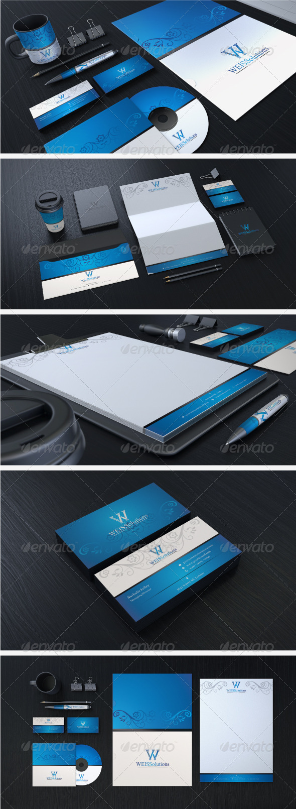 Creative Corporate Identity 06 - Stationery Print Templates