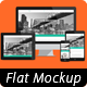 Multi Devices - Flat Responsive Web Mockups - GraphicRiver Item for Sale
