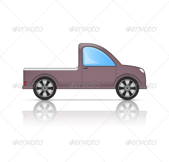 Pickup Truck - Travel Conceptual