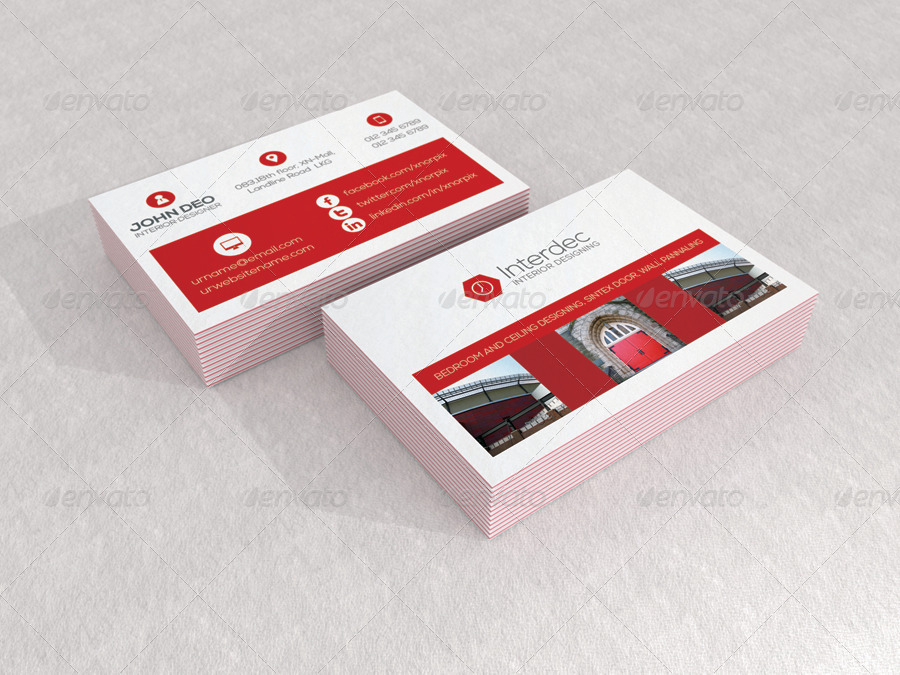 Gallery Of Spring Loaded Business Card Holder Luxe Mock Up By Axnorpix Graphicriver