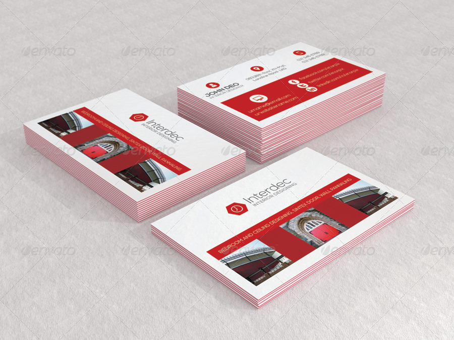Luxe Business Card Mock Up By Axnorpix Graphicriver