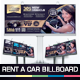 Rent A Car Billboard - GraphicRiver Item for Sale