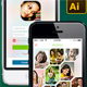 Smartphone User Interface Kit - GraphicRiver Item for Sale